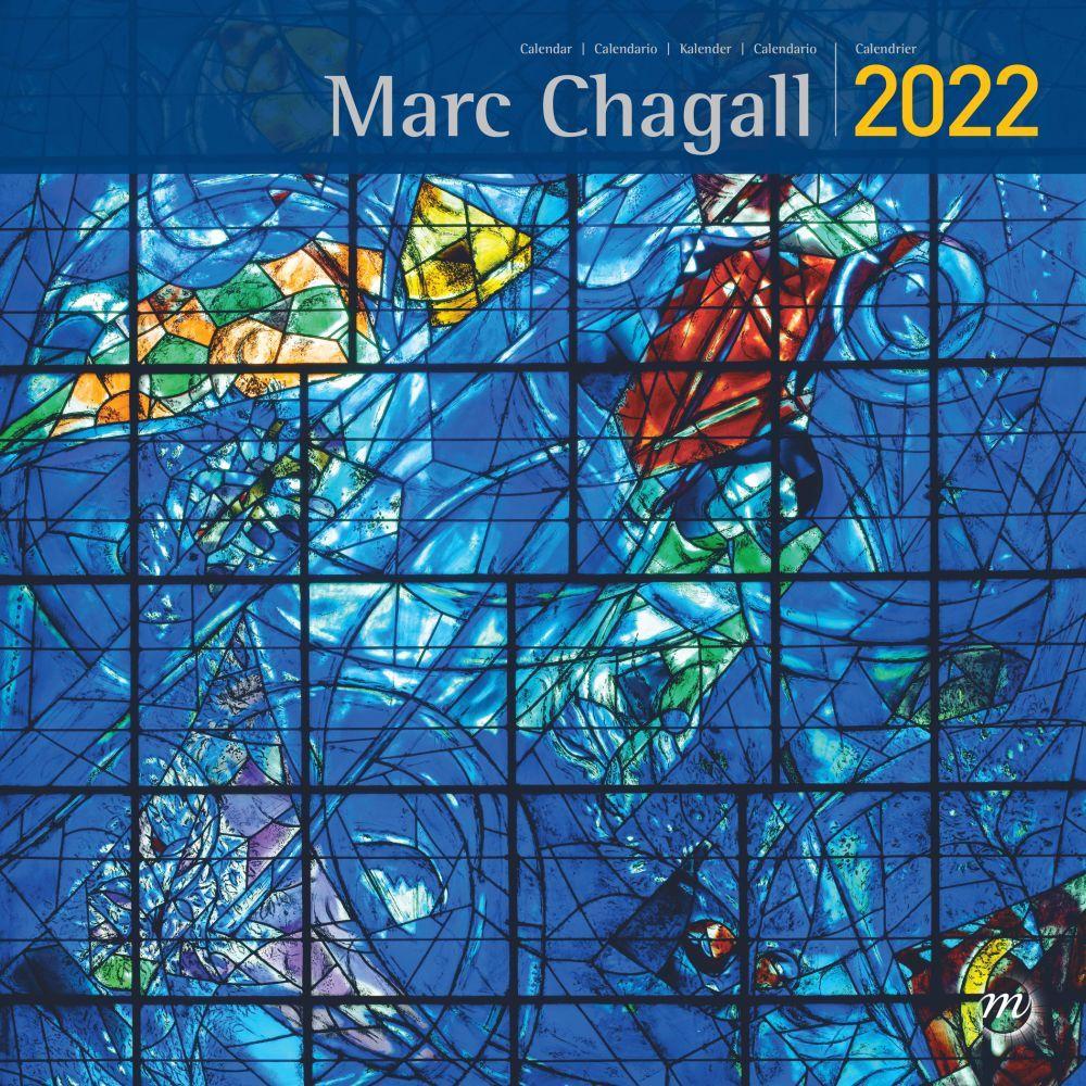 Chagall RMN 2022 Wall Calendar
