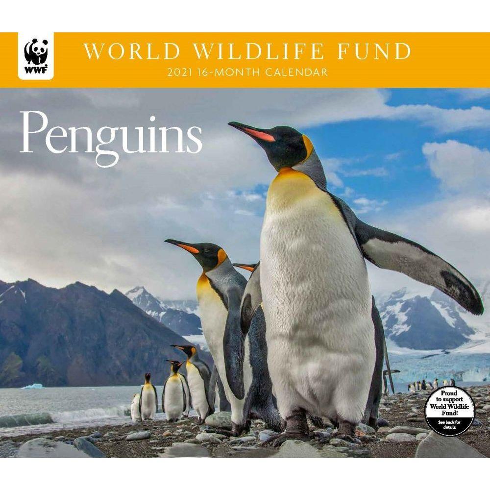 2021 Penguins WWF Wall Calendar