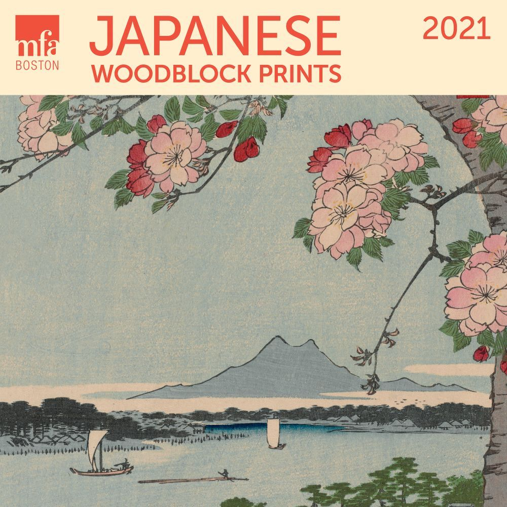 2021 Japanese Woodblocks MFA Wall Calendar