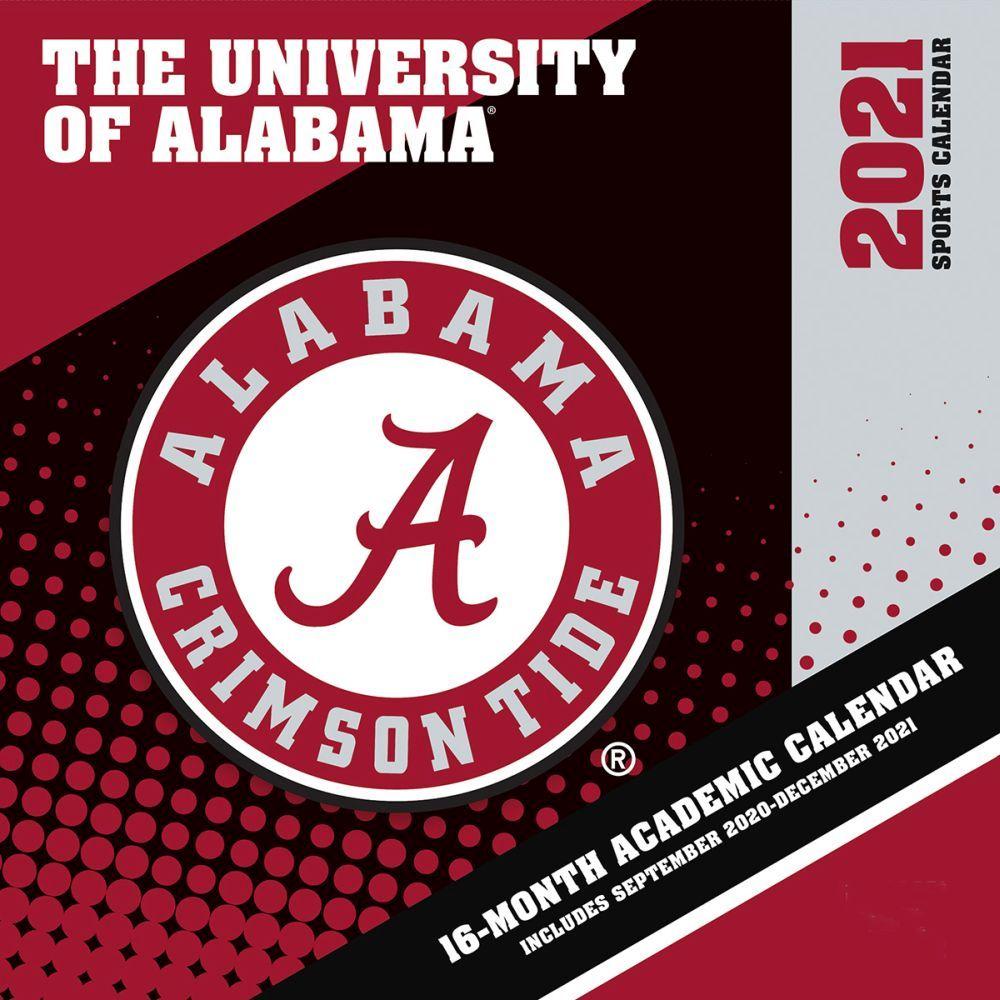 Alabama Crimson Tide 2021 Wall Calendar