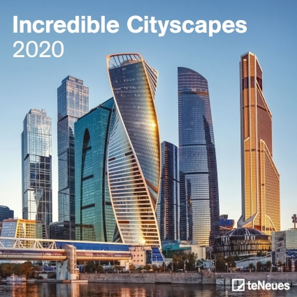 Incredible Cityscapes 2021 Wall Calendar