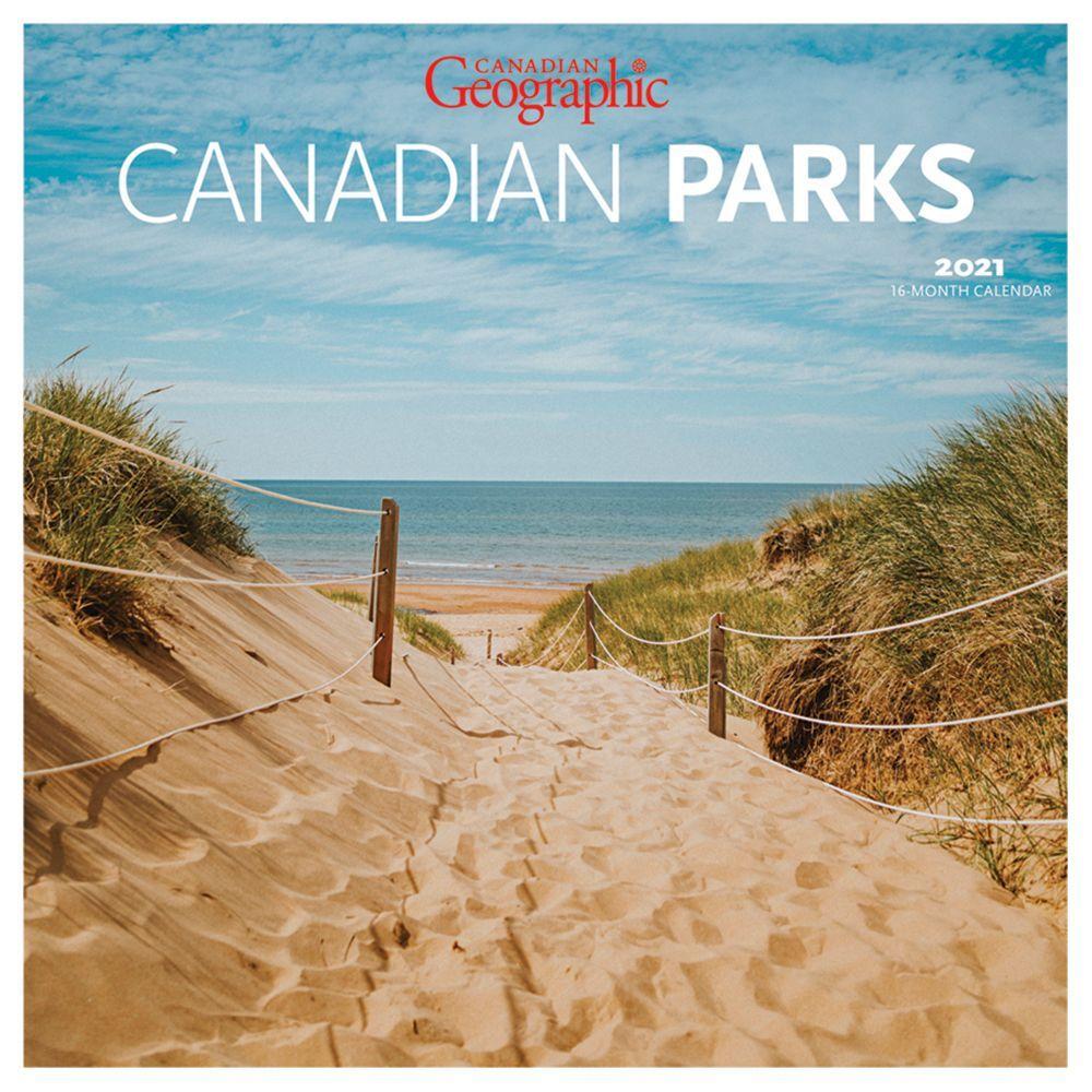 2021 Canadian National Parks Mini Wall Calendar