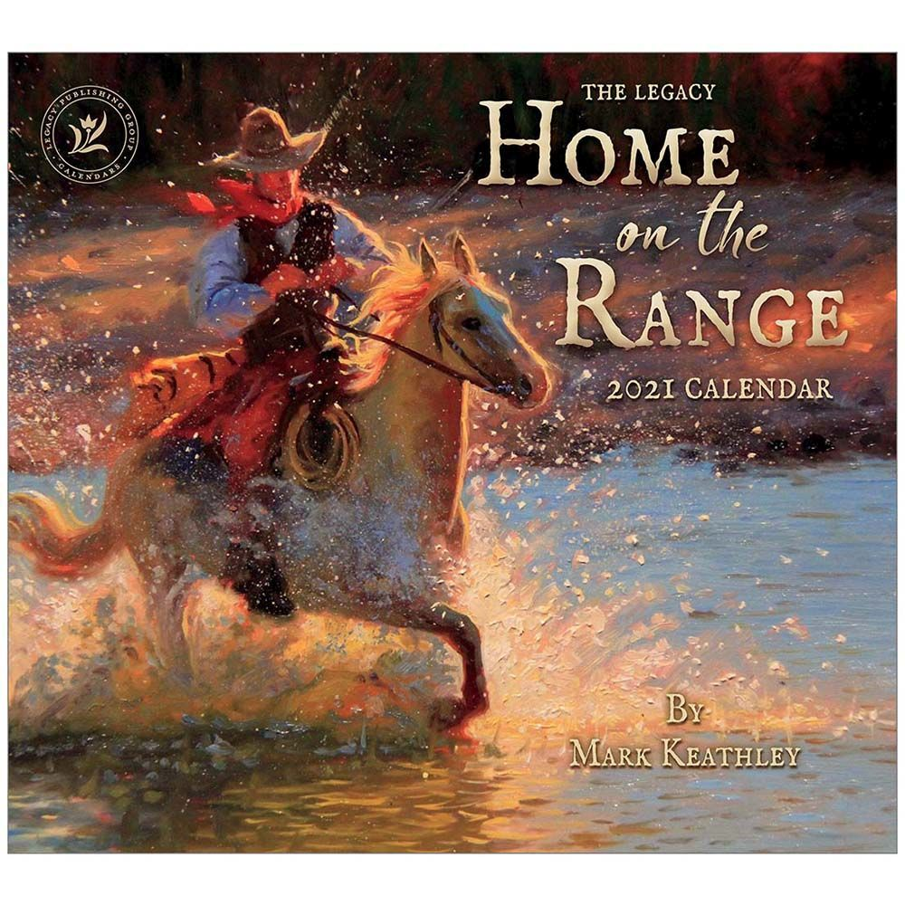 2021 Home on the Range McGannon Wall Calendar