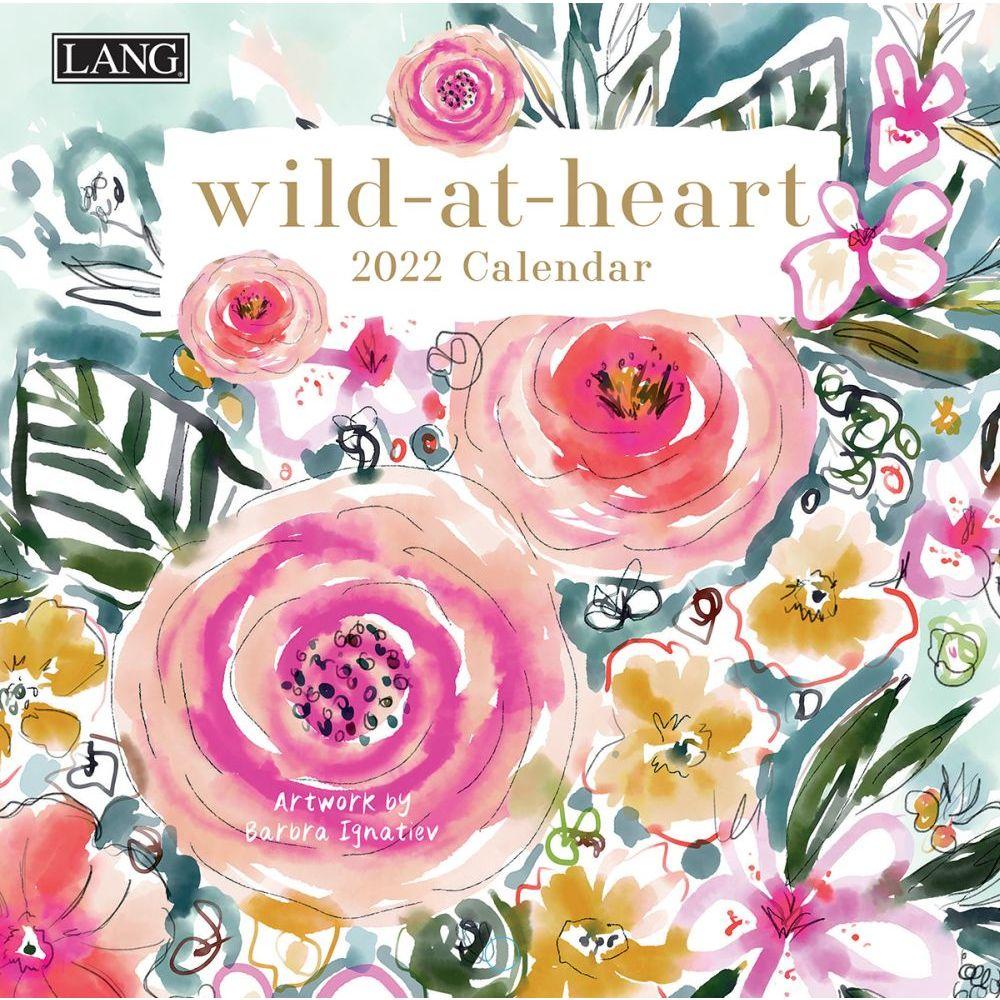 Wild At Heart 2022 Mini Wall Calendar