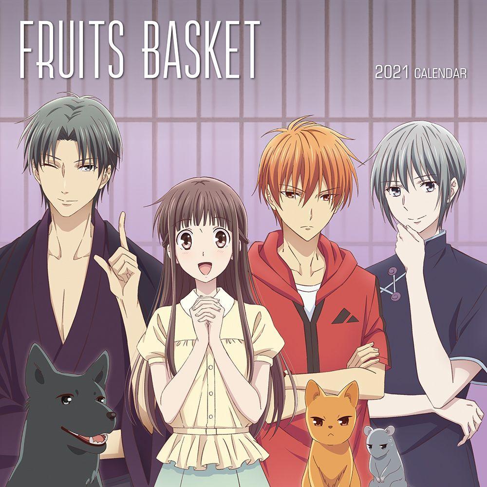 Fruits Basket Wall Calendar - Calendars.com