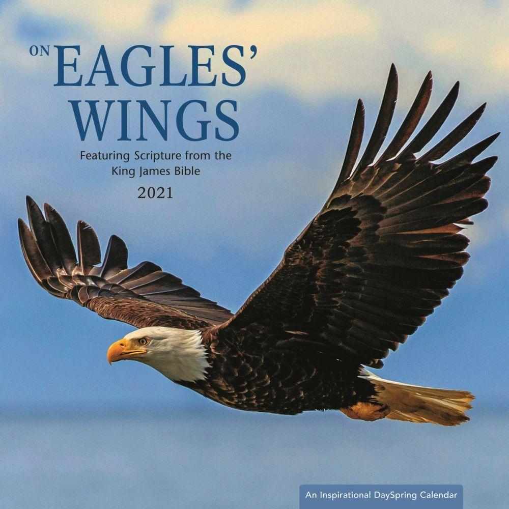 2021 Eagles Wing Wall Calendar