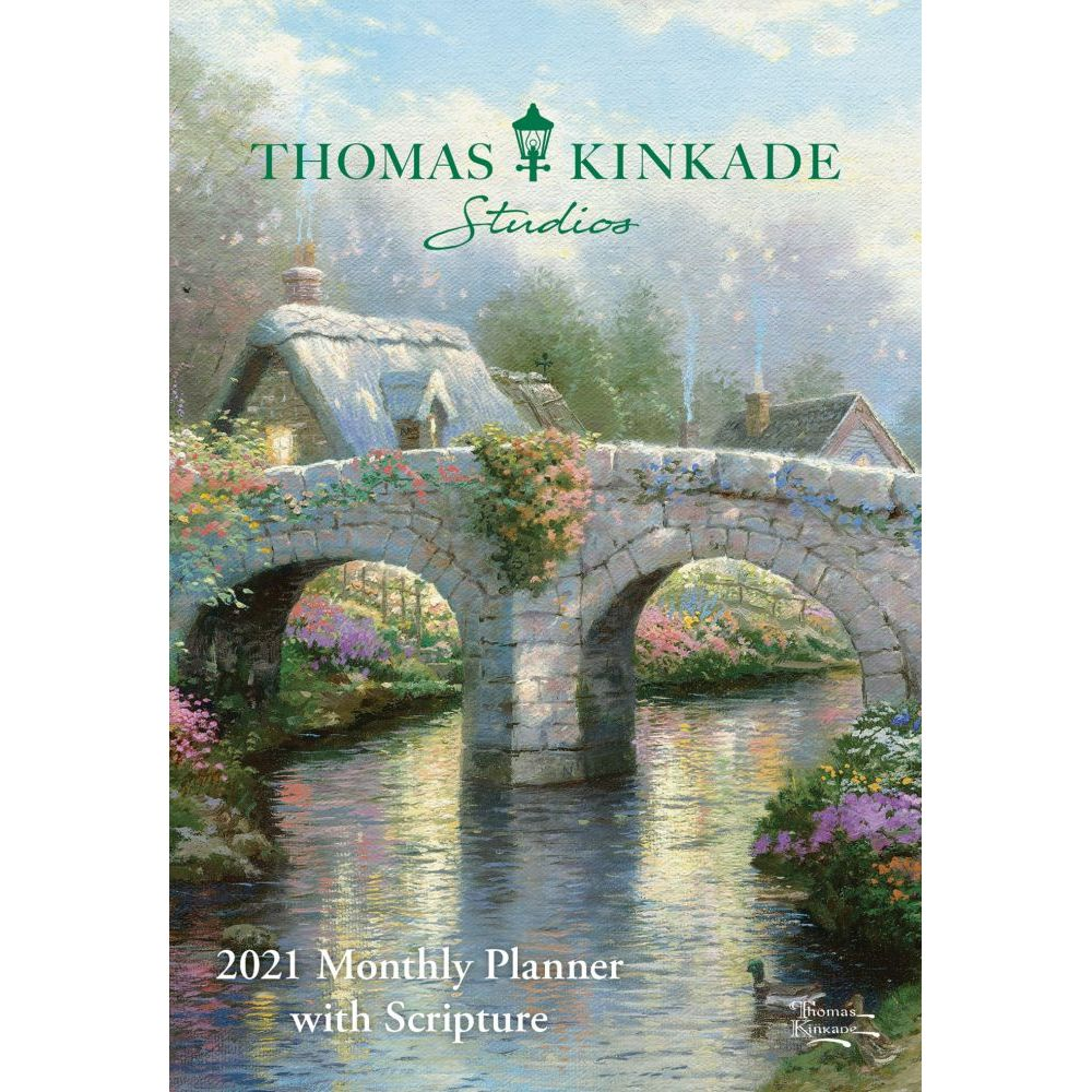 Thomas Kinkade Painter of Light with Scripture 2021 Planner