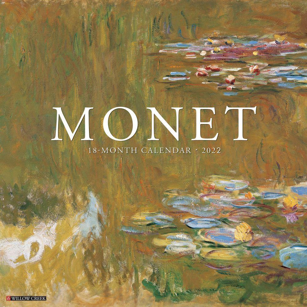 Claude Monet 2022 Wall Calendar