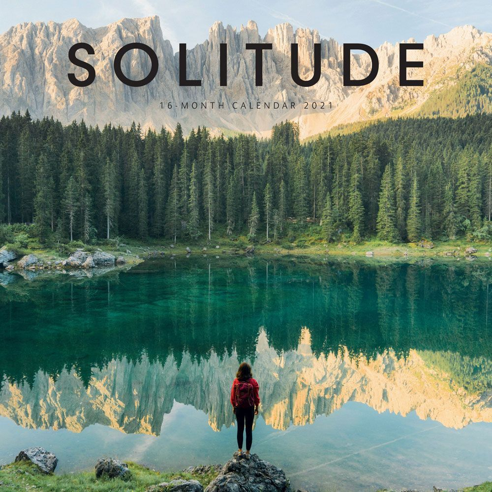 2021 Solitude Wall Calendar