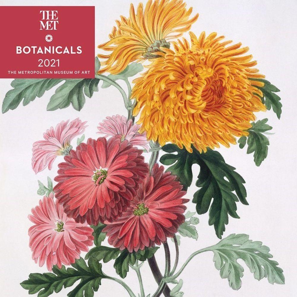 2021 Botanicals Wall Calendar