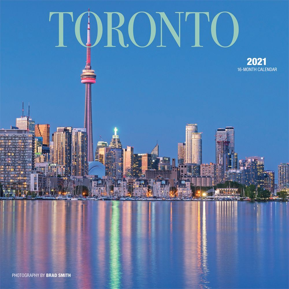 2021 Toronto Wall Calendar