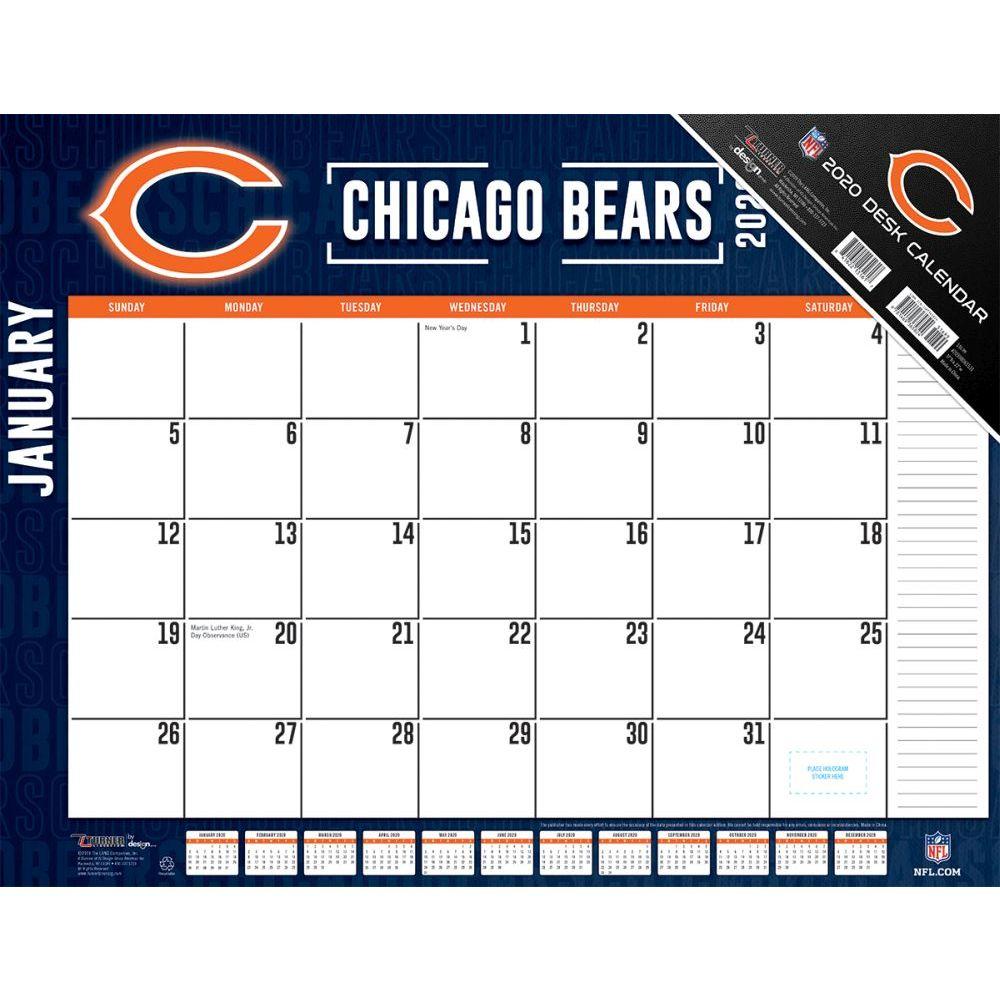 Chicago Bears 2021 Desk Pad