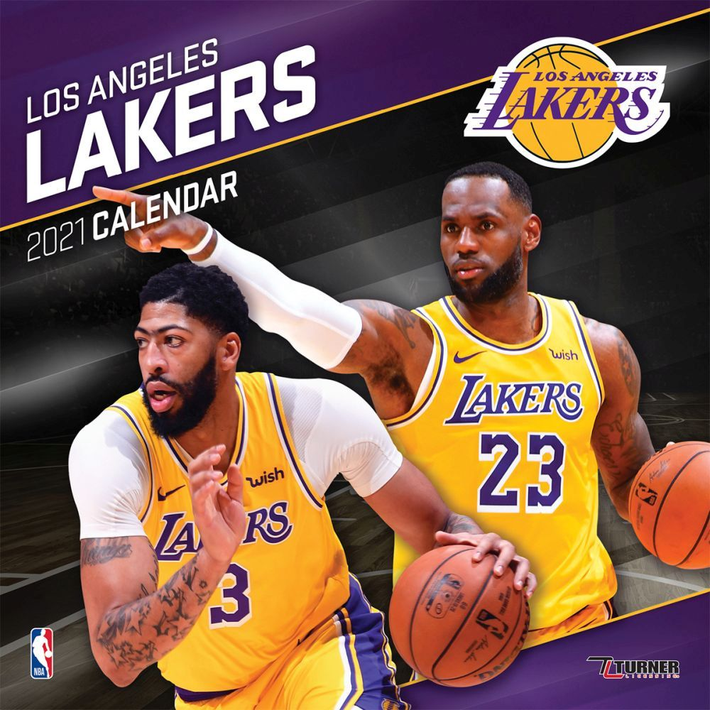 2021 Los Angeles Lakers Mini Wall Calendar