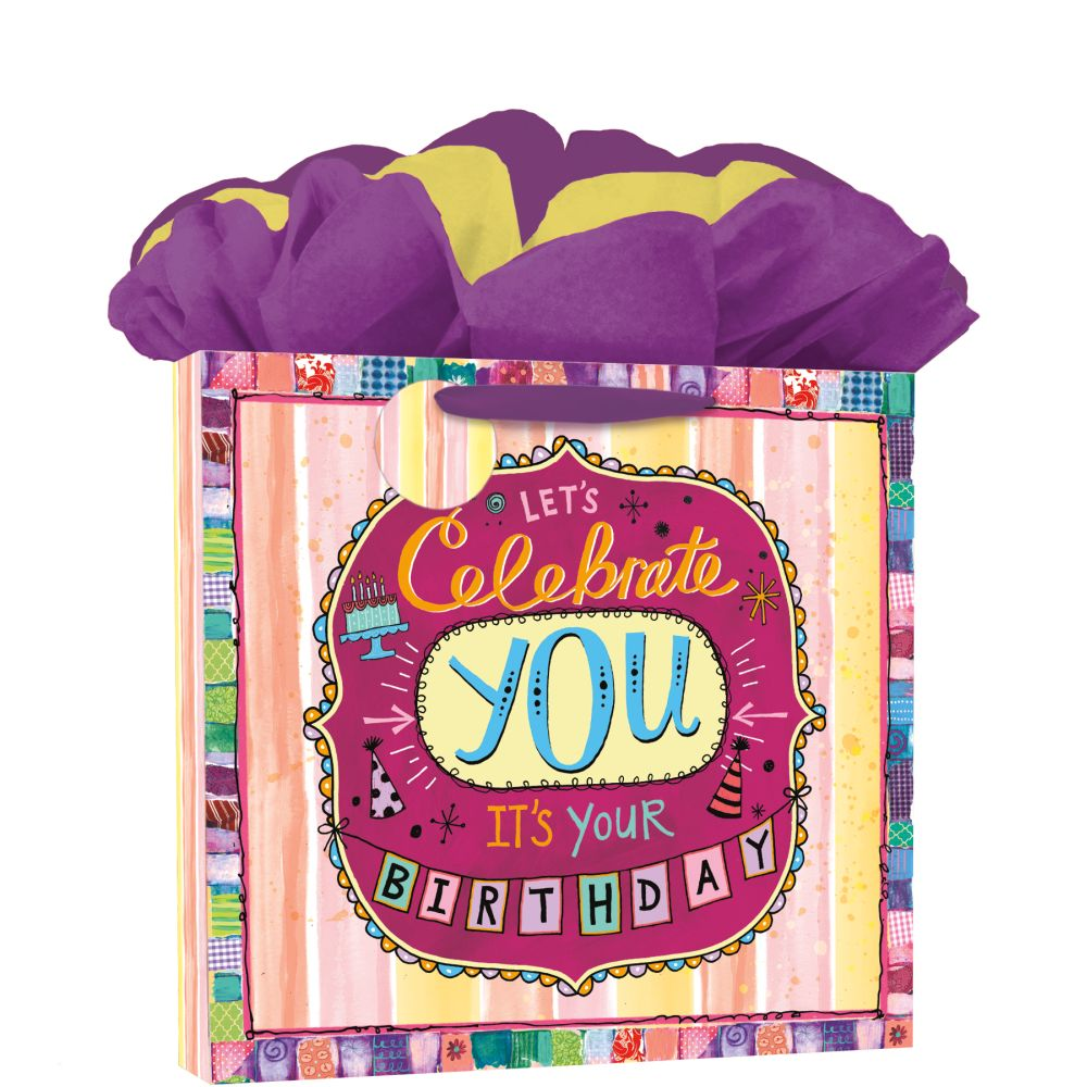 2021 Birthday Bash Calendar GoGo Gift Bag by Lori Siebert