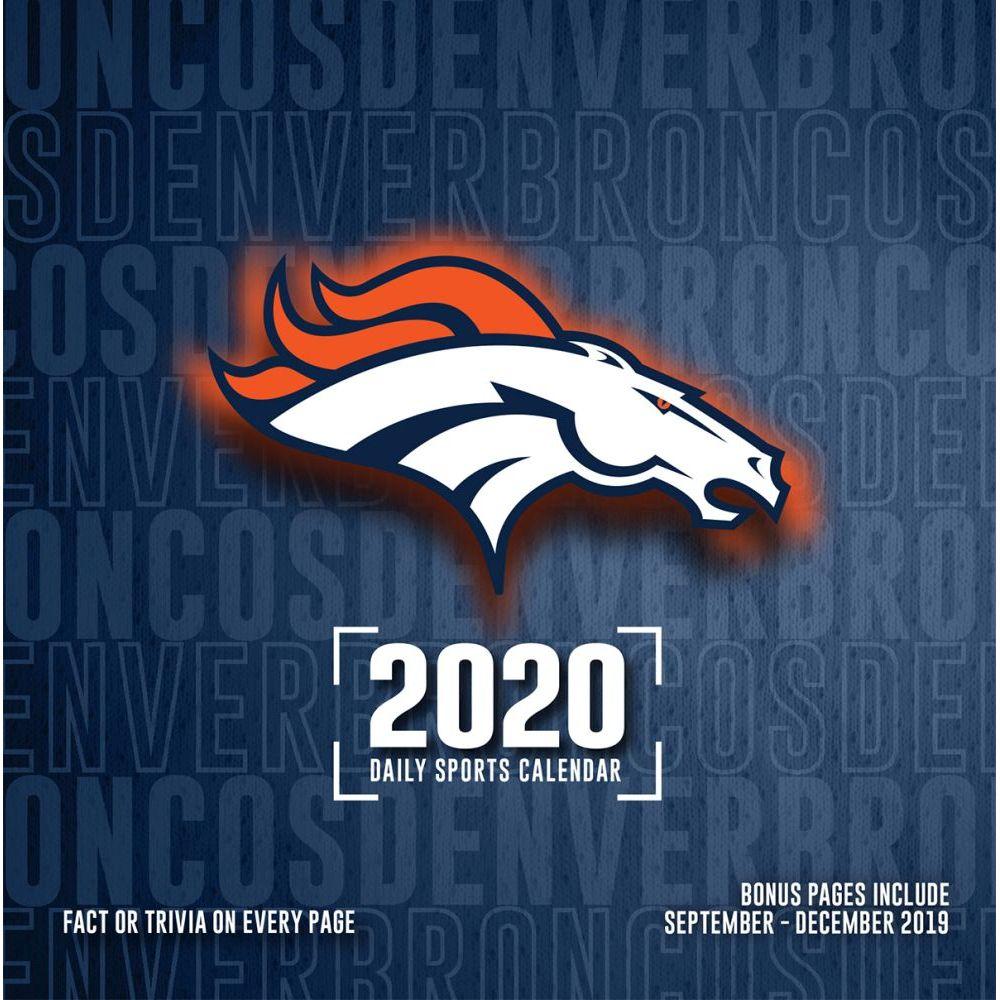 Denver Broncos 2021 Desk Calendar