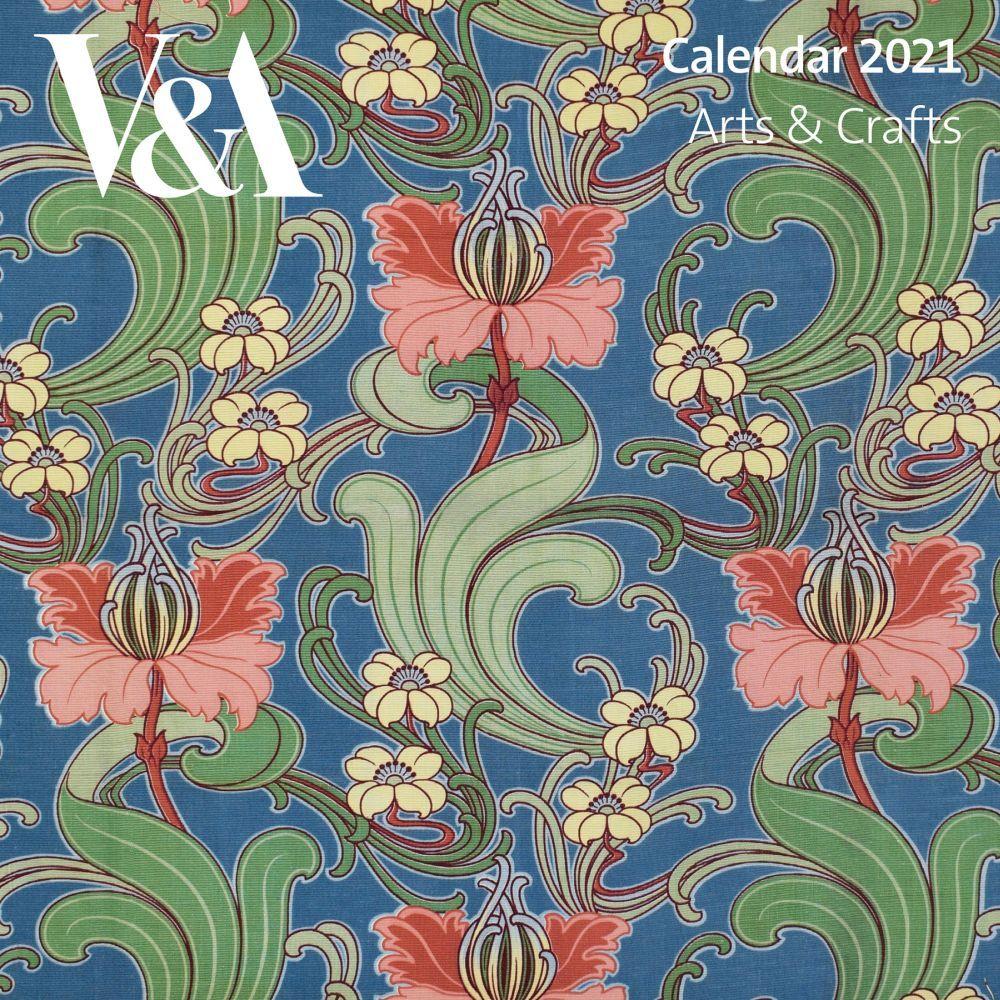 2021 V&A Art Deco Design Mini Wall Calendar