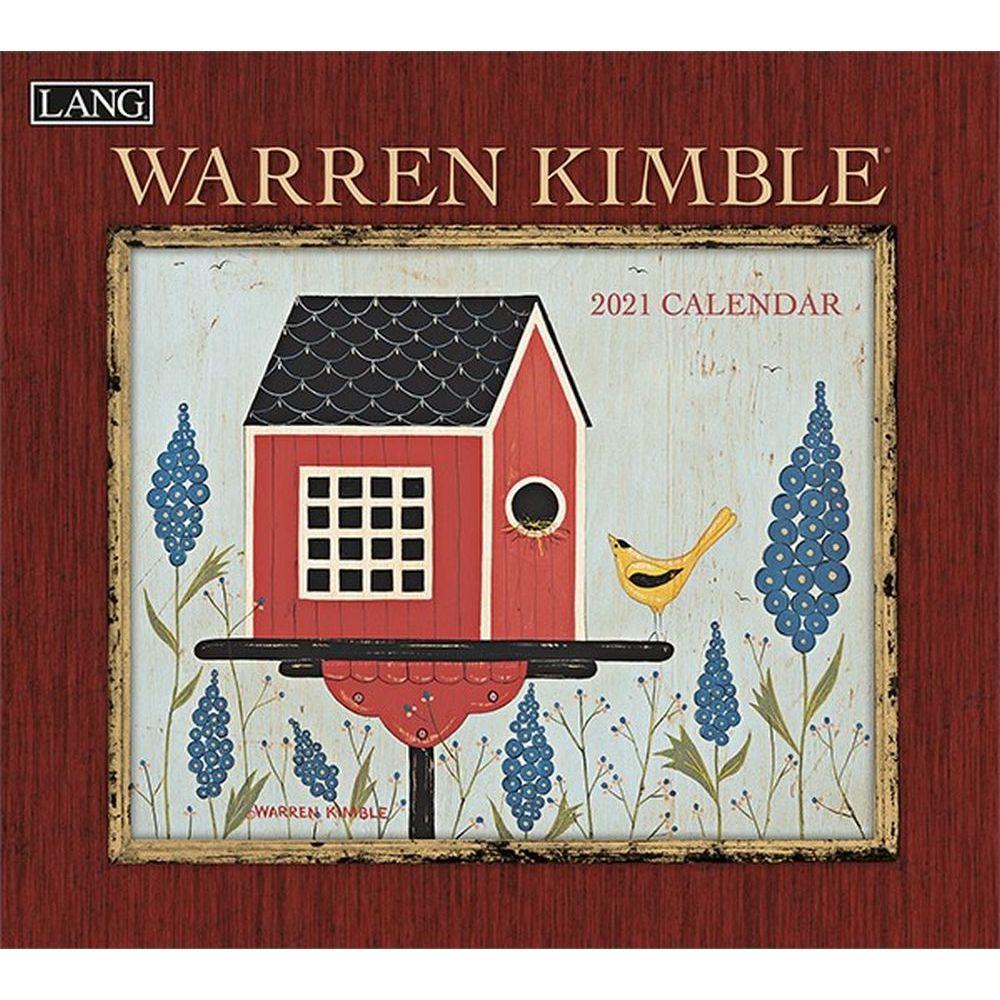 2021 Warren Kimble Wall Calendar by Warren Kimble