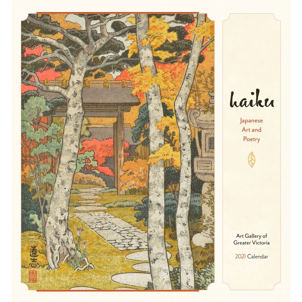 2021 Haiku Japanese Art & Poetry Wall Calendar