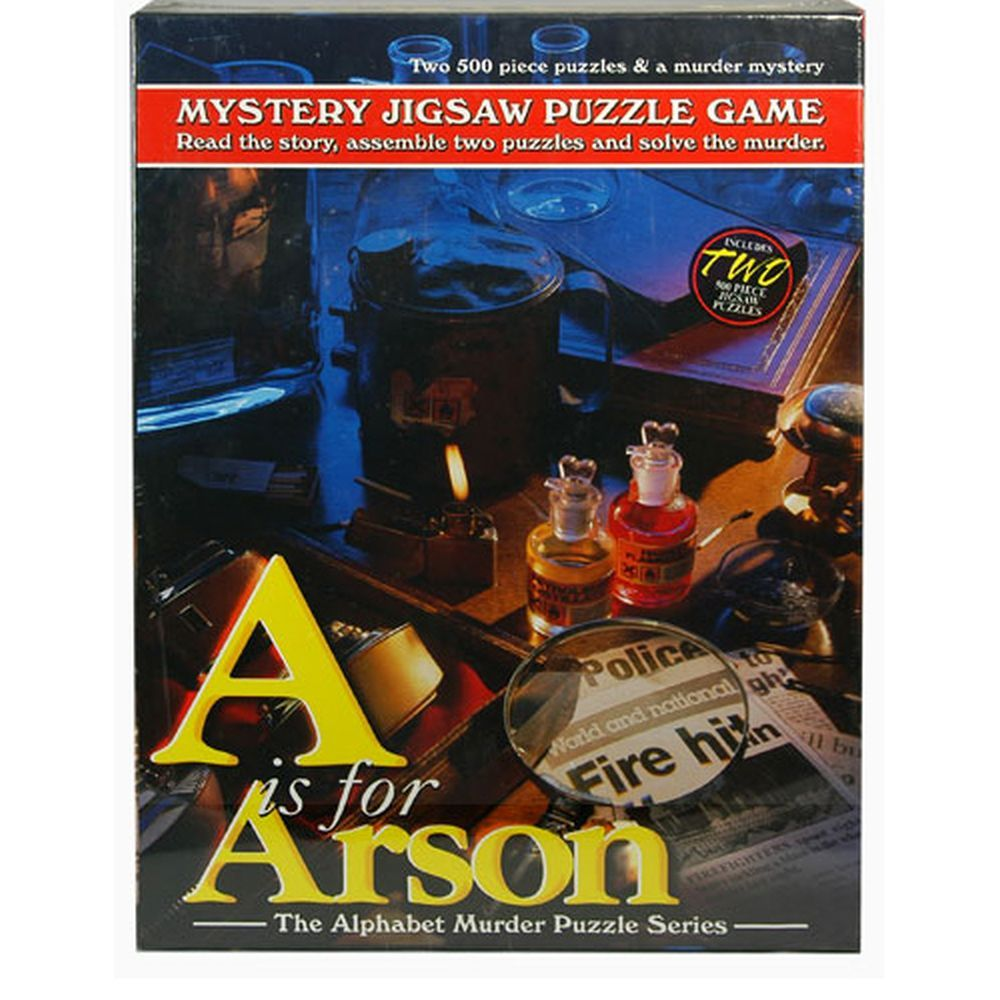 Best A for Arson Mystery 500 Piece Puzzle You Can Buy