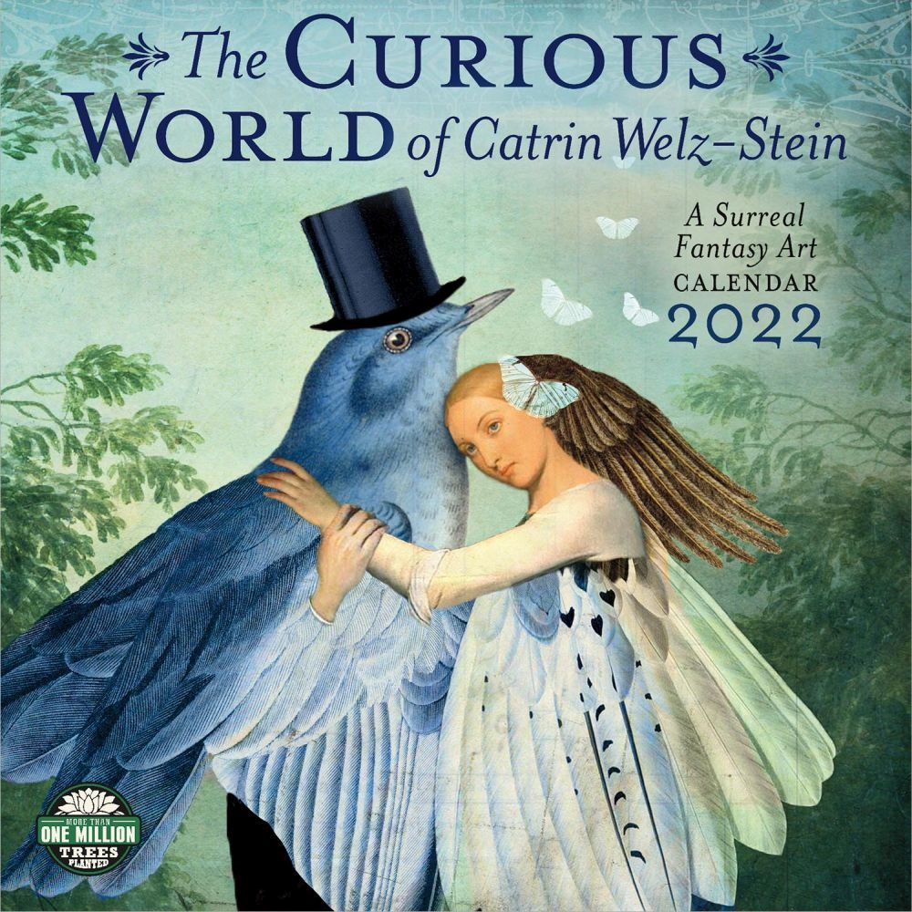 Curious World of Catrin Welz-Stein 2022 Wall Calendar