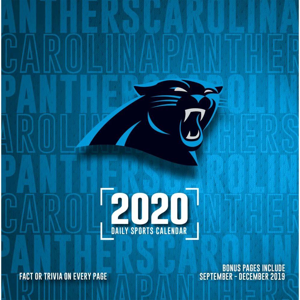 Carolina Panthers 2021 Desk Calendar