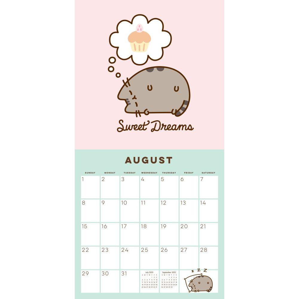 Pusheen Calendar 2022.Pusheen Wall Calendar Calendars Com