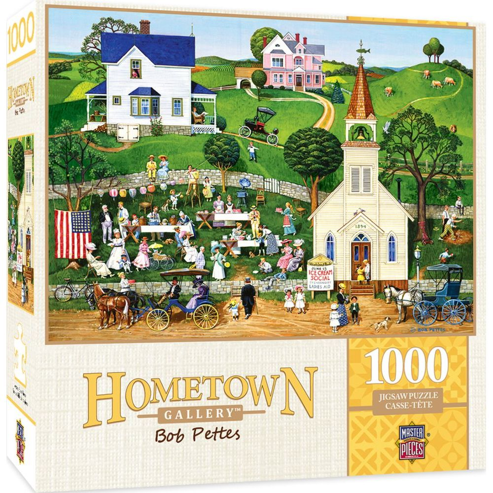 Best Hometown Strawberry Sunday 1000pc Puzzle You Can Buy