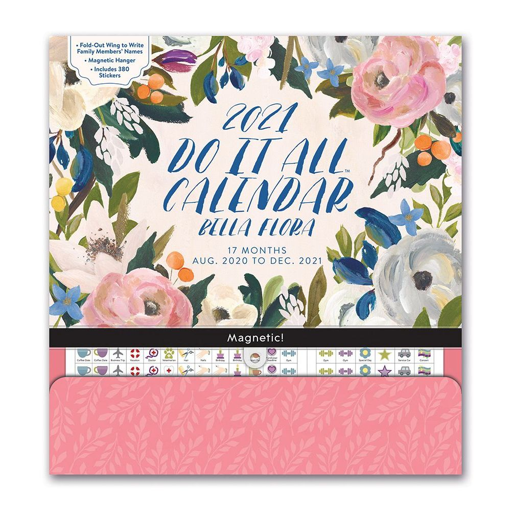 2021 Bella Flora Do It All Wall Calendar
