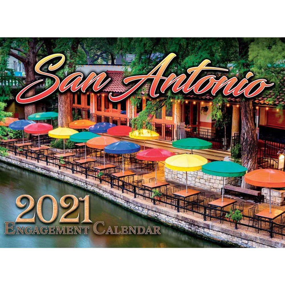 San Antonio 2021 Wall Calendar