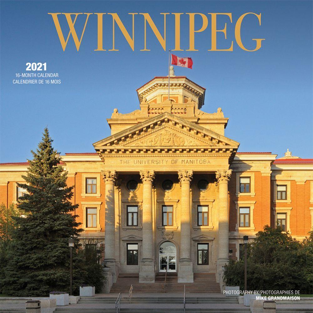 2021 Winnipeg Wall Calendar
