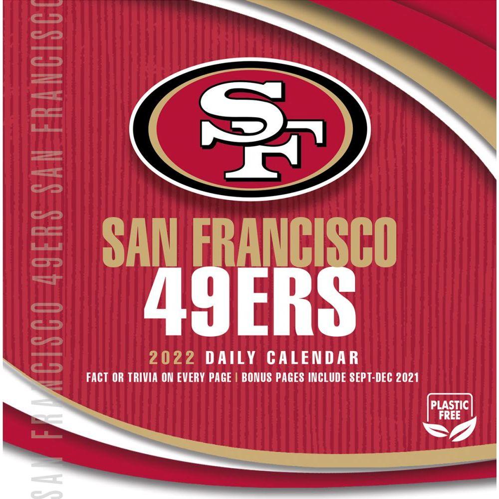San Francisco 49ers 2022 Desk Calendar