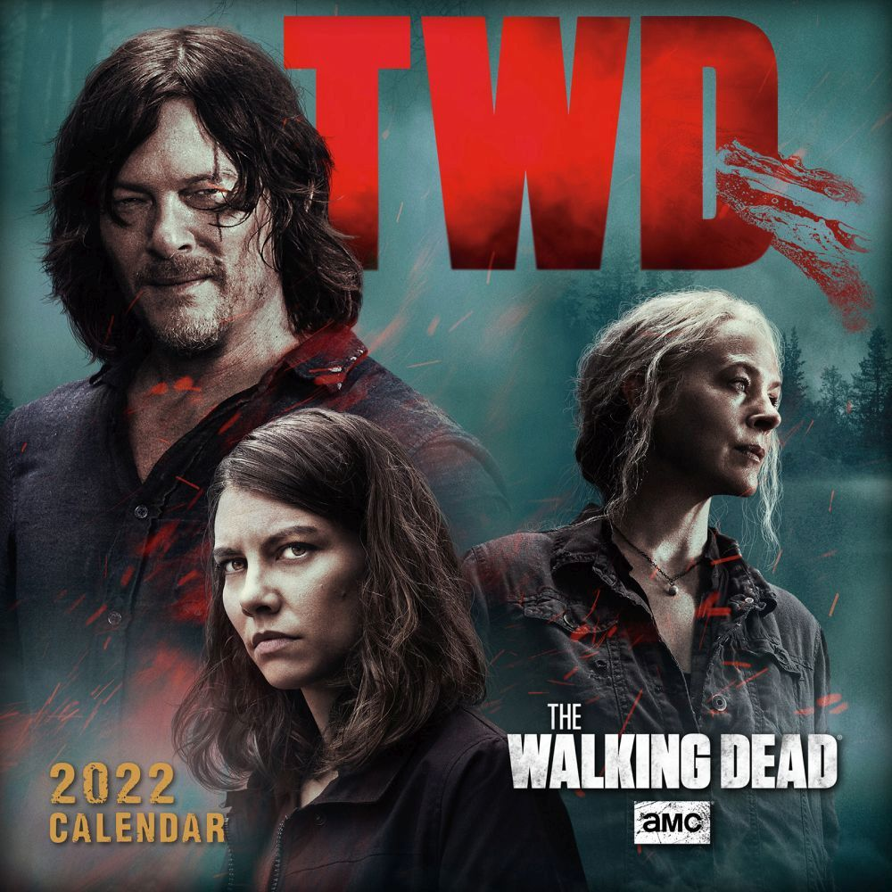 Walking Dead 2022 Mini Wall Calendar