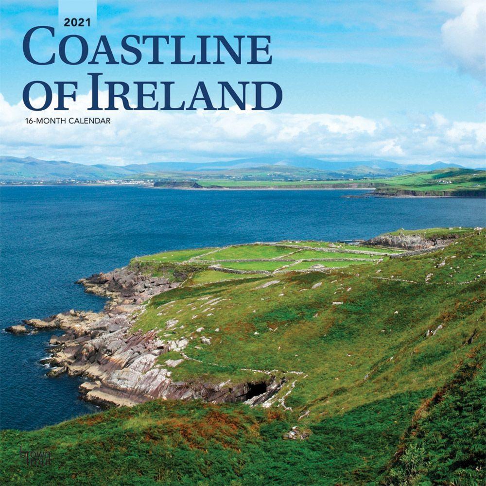 2021 Ireland Coast Wall Calendar