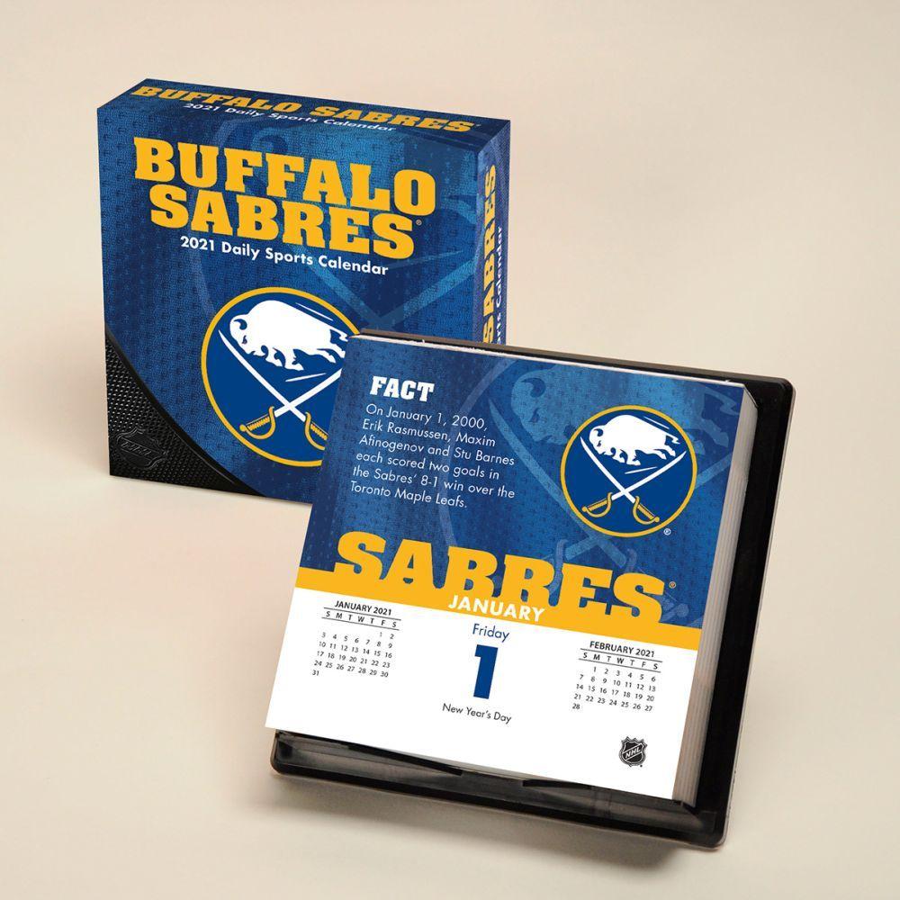 2021 Buffalo Sabres Desk Calendar