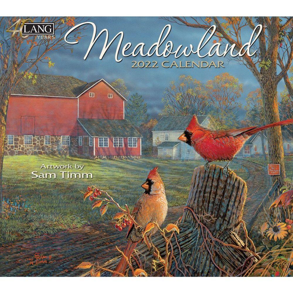 Meadowland 2022 Wall Calendar