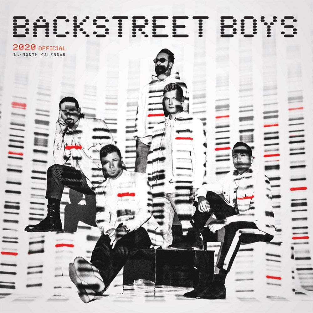 Backstreet Boys Wall Calendar   Calendars.com