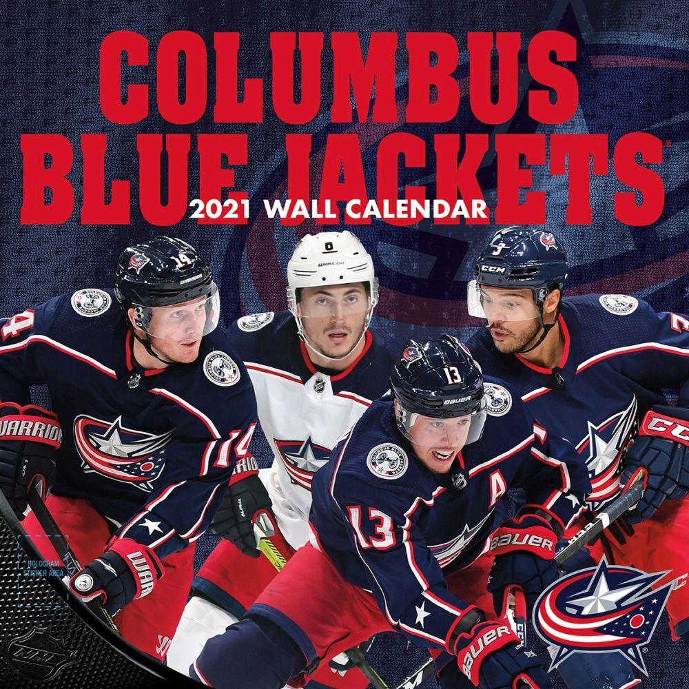 2021 Columbus Blue Jackets Wall Calendar