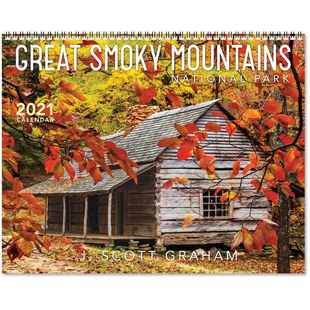 2021 Great Smoky Mountains National Park Wall Calendar