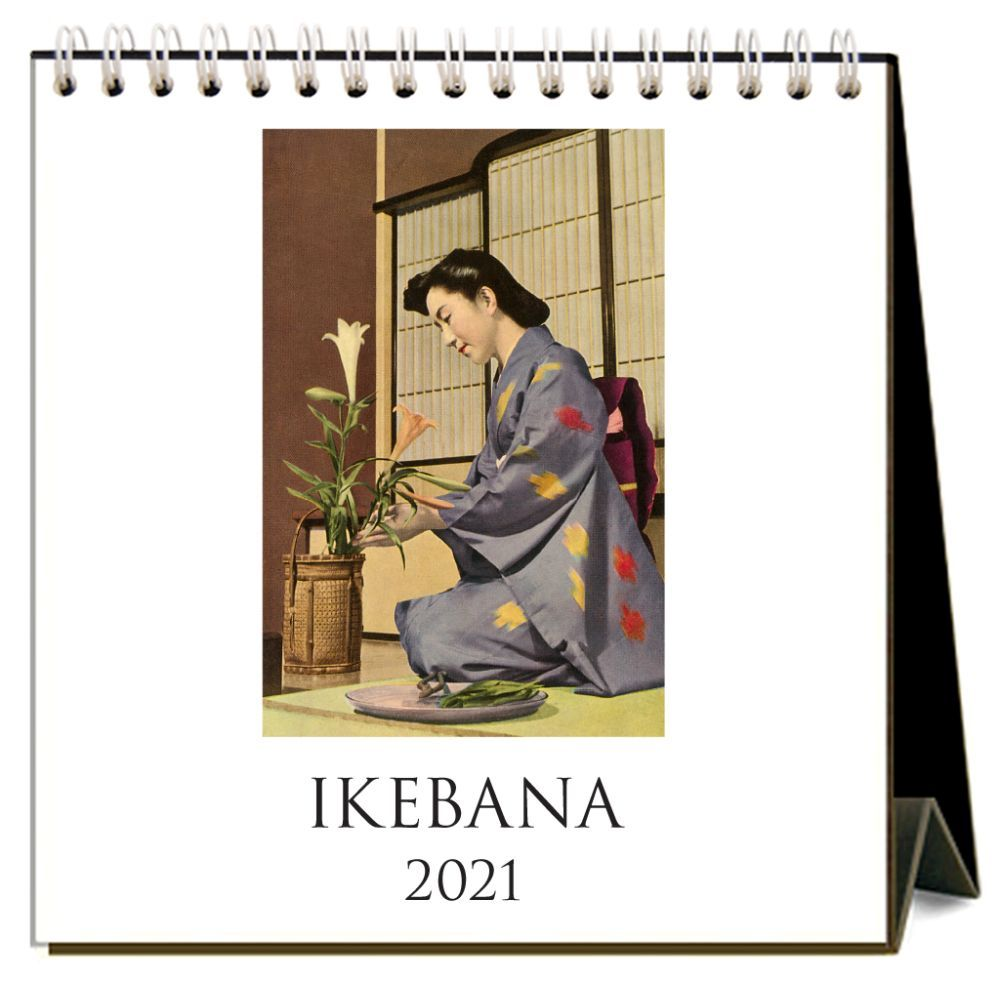 2021 Ikebana Easel Calendar