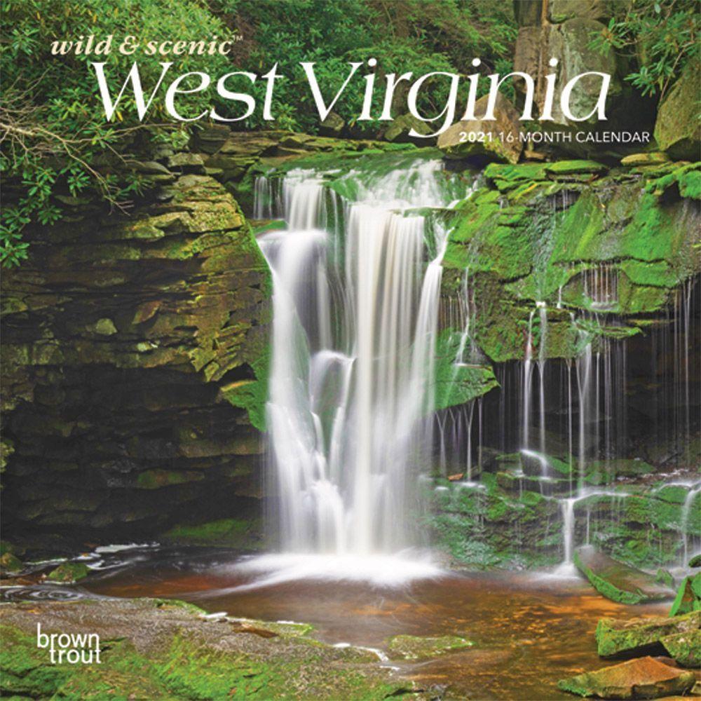West Virginia 2021 Mini Wall Calendar