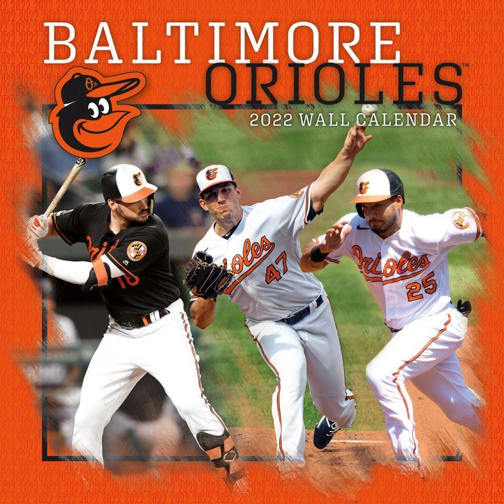 Baltimore Orioles 2022 Wall Calendar