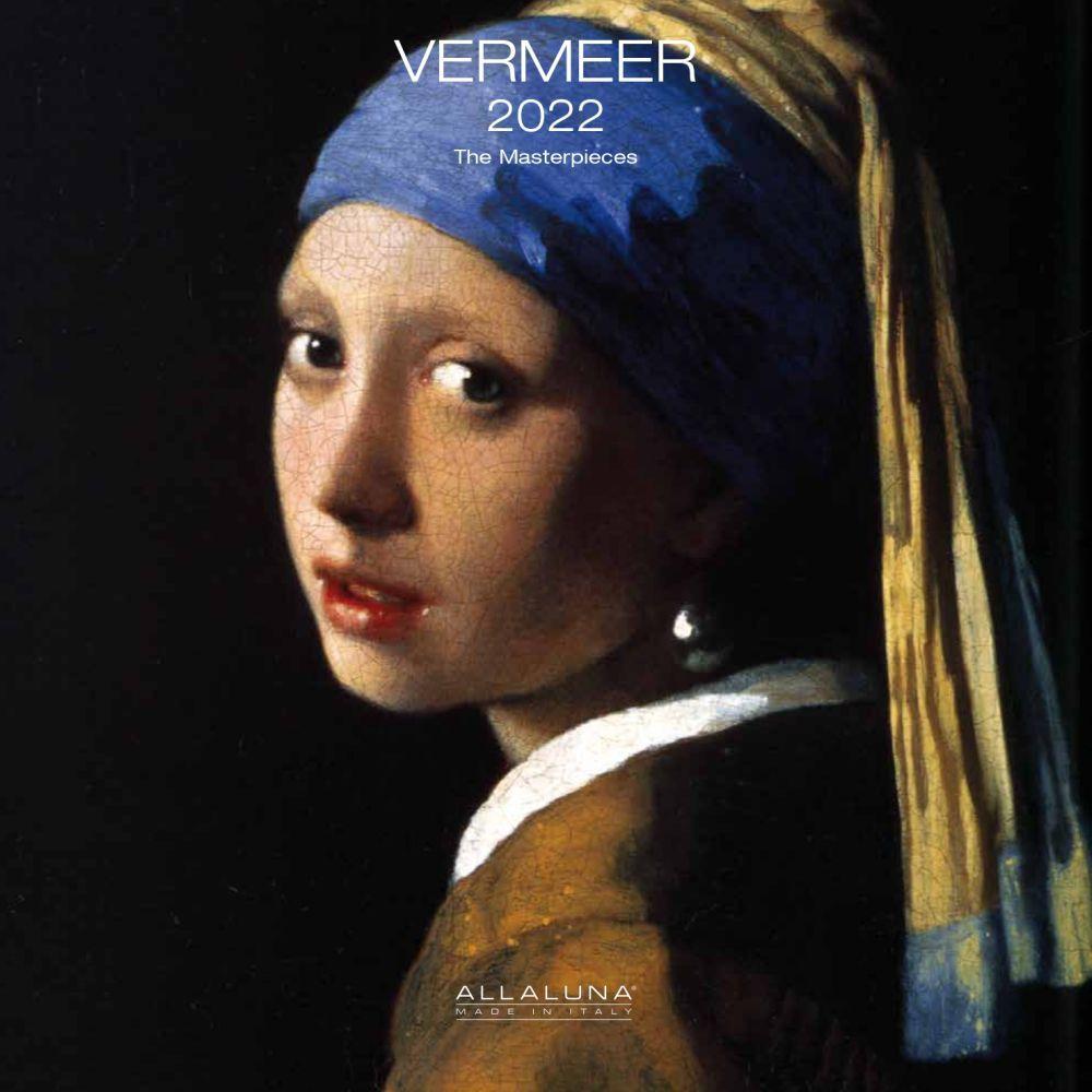 Johannes Vermeer 2022 Wall Calendar