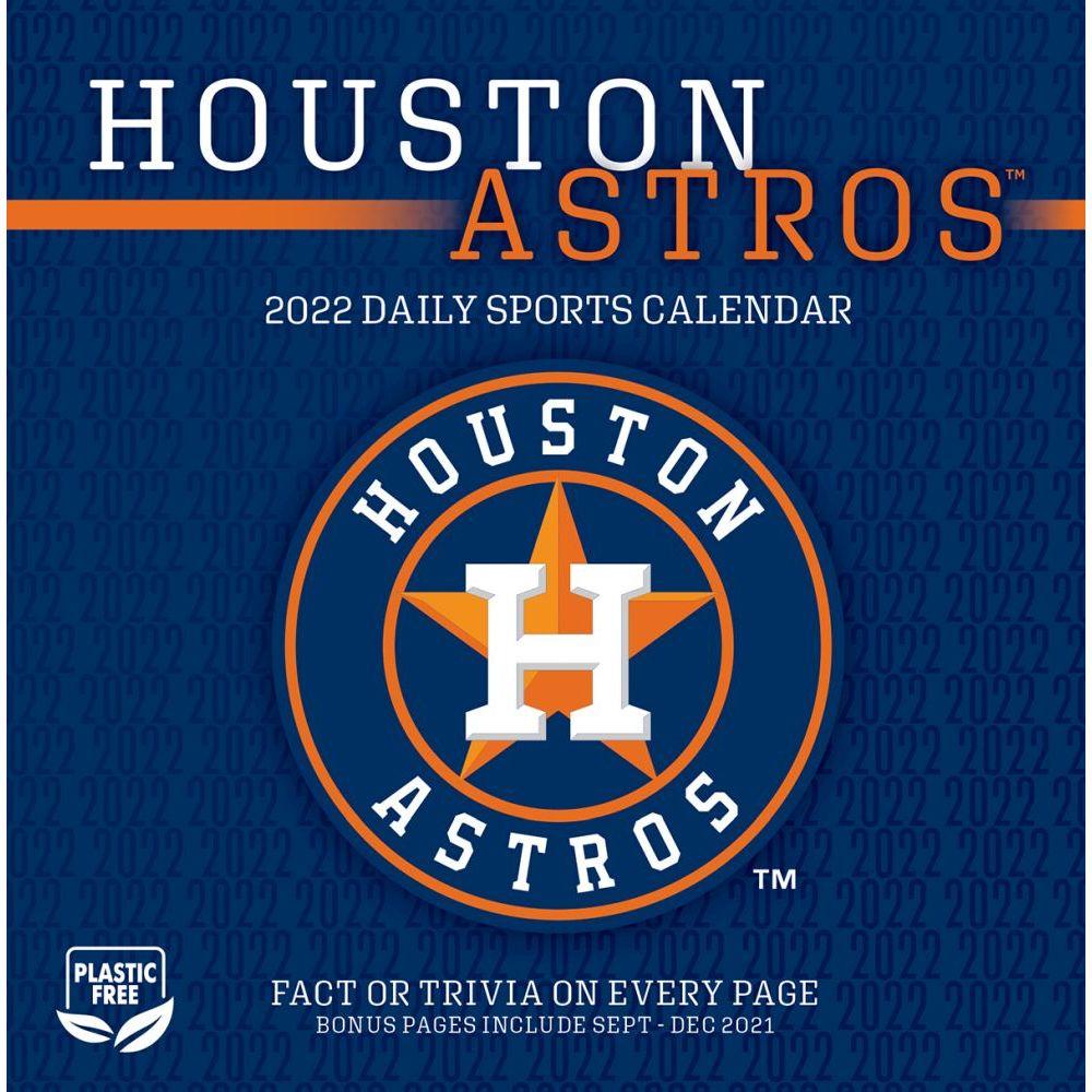Houston Astros 2022 Desk Calendar