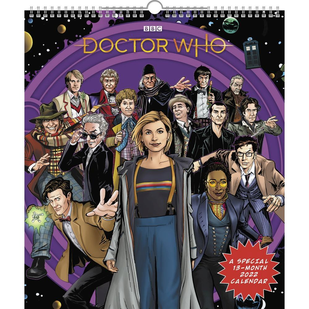 Doctor Who Special Edition 2022 Poster Wall Calendar