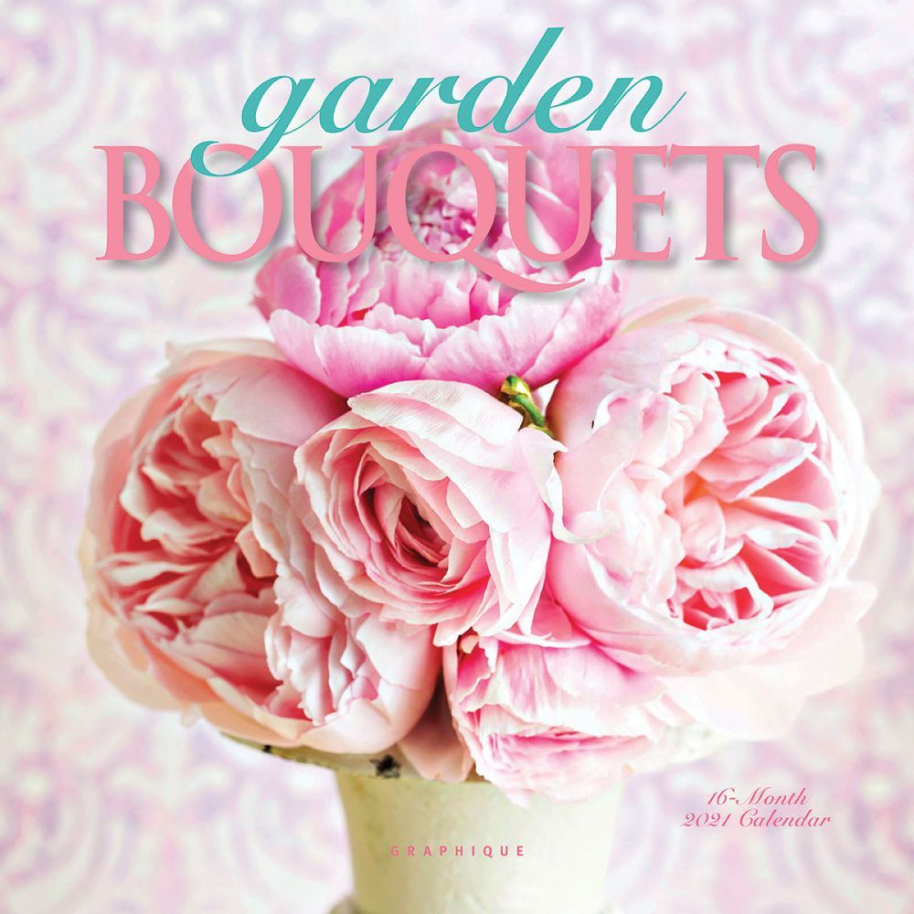2021 Garden Bouquets Mini Wall Calendar