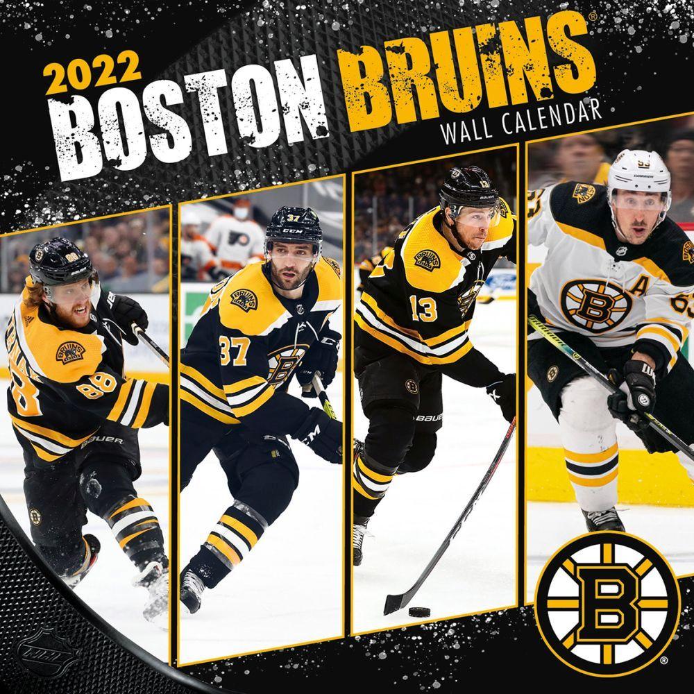 Boston Bruins 2022 Wall Calendar