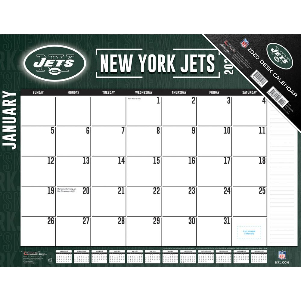 New York Jets 2021 Desk Pad
