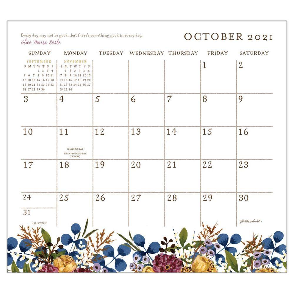 2021 Live Simply Magnetic Calendar