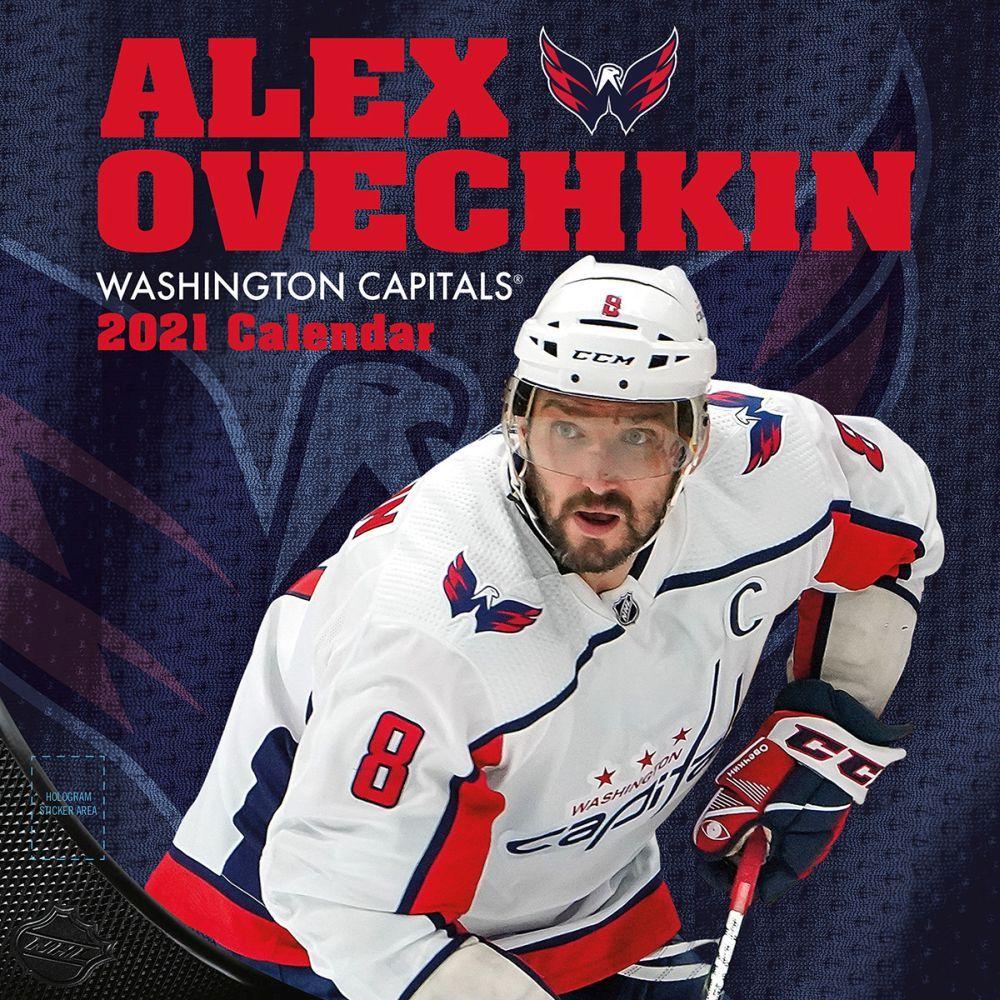 2021 Washington Capitals Alex Ovechkin Player Wall Calendar