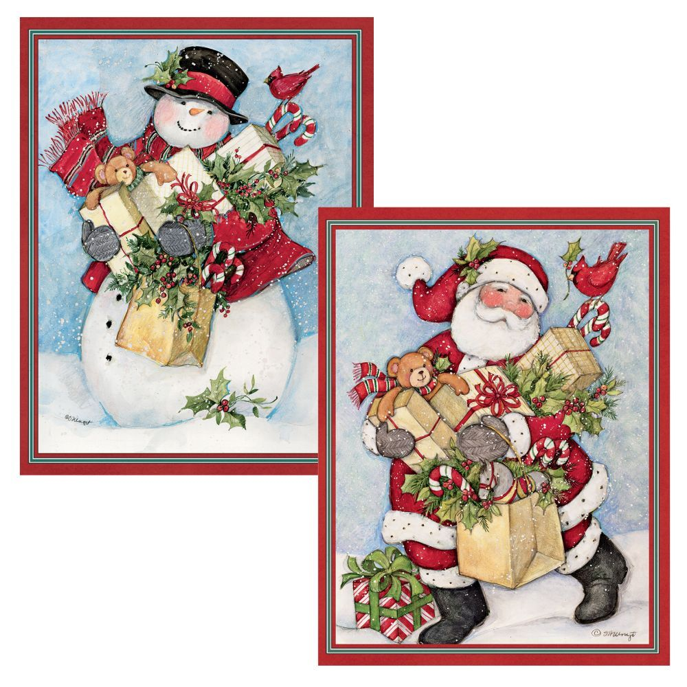 Candy-Cane-Snowman-&-Santa-Assorted-Boxed-Christmas-Cards-1